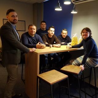 Литовська компанія InterAtlas в головному офісі РЕНОМЕ-СМАРТ